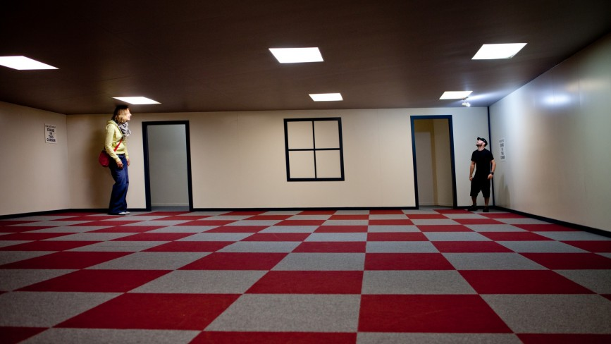 Ames Illusion Room